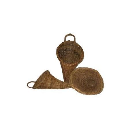Set de 3 corne d'abondance - osier - de 33 à 45cm