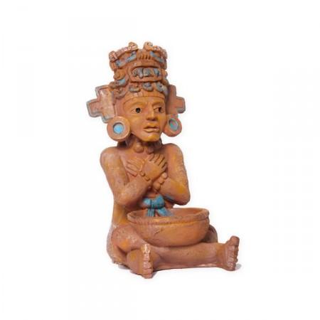 Figurine Mexicaine - résine - haut 40 cm