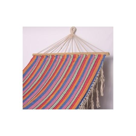 Hamac multicolore - tissu - 80 x 200cm