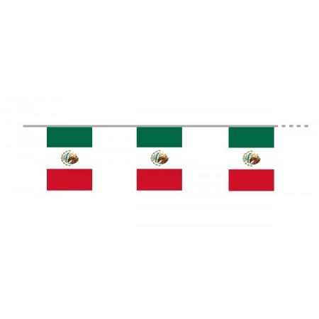 Guirlande   Mexique - tissu - Long. 400cm