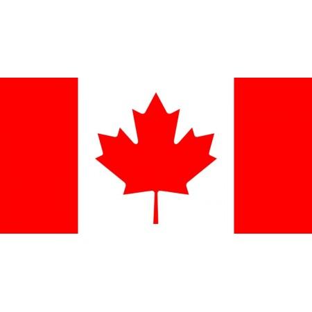 Drapeau Canada - tissu - 90 x150cm