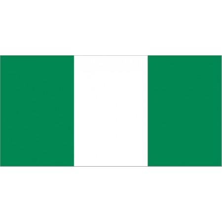 Drapeau Nigeria - tissu - 90 x 150cm