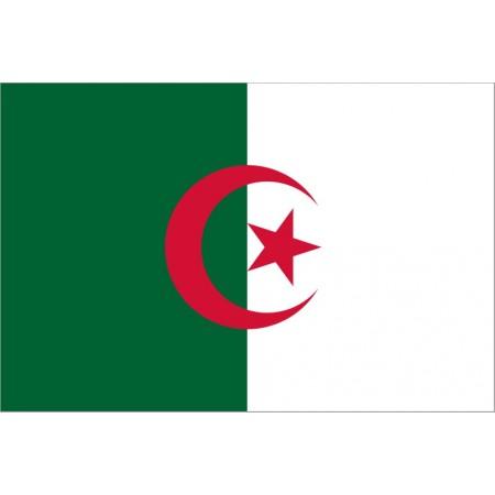 Drapeau Algérie - tissu - 90 x 150cm