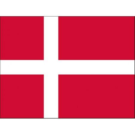 Drapeau Danemark - tissu - 90 x 150cm