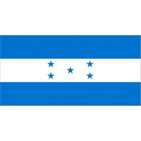Drapeau Honduras - tissu - 90 x 150cm