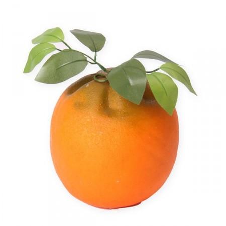 Orange géante - polystyrène - H. 19cm
