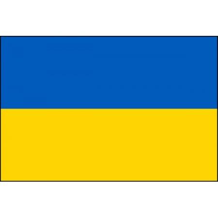Drapeau Ukraine - tissu - 60 X 90 cm
