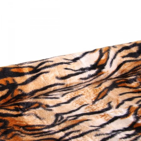 Tissu tigre - Larg.140cm    (vendu au mètre)