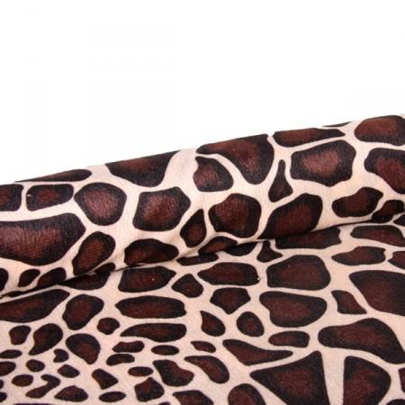 Tissu Girafe Largeur  - coupe de 2.50m -  larg: 140 cm