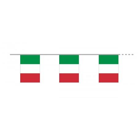 Guirlande  ITALIE - 15 fanions pvc - Long 500cm