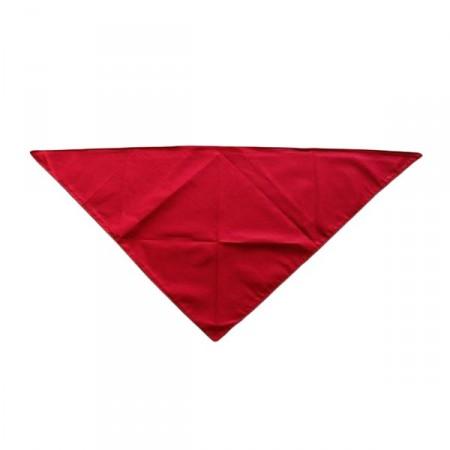 Bandana rouge - tissu - 70 X 70 cm