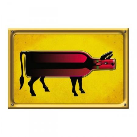 Affiche '' Le Boeuf  42 x 30 cm - papier
