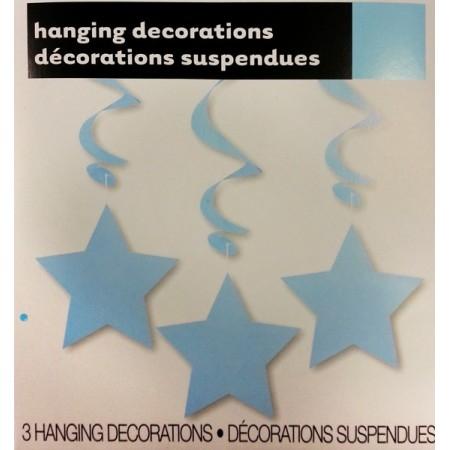 Virvatelles bleu x3 - PVC - Long: 91 cm