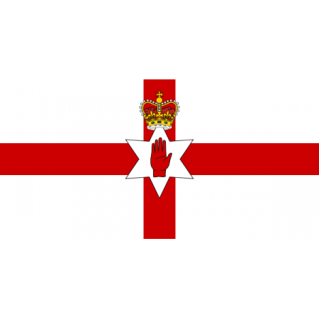 Drapeau Irlande du NORD - Tissu - 60 x 90 cm