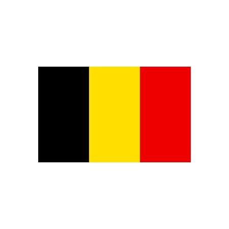 Drapeau Belgique - tissu - 60 x 90cm