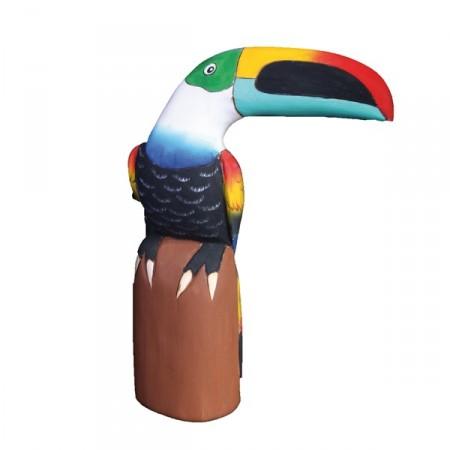 Toucan - balsa - haut : 30 cm