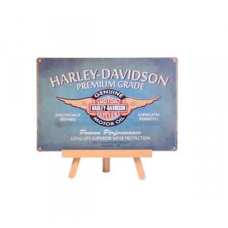 Plaque Métal HARLEY DAVIDSON - 20 x 30cm
