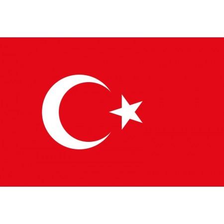 Drapeau Turquie - tissu - 60 X 90 cm
