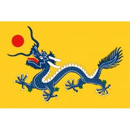 Drapeau Dragon Imperial - tissu - 90 x 150cm