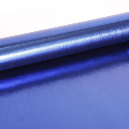Tissu lamé bleu larg. 110 cm