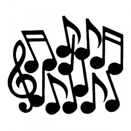 Sachet de 12 notes de musiques