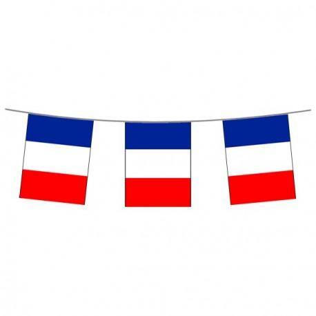 Guirlande  France - tissu - Long. 500 cm