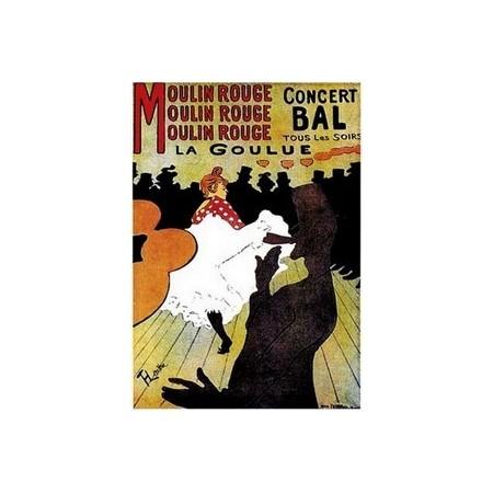 Affiche Moulin rouge  - 50 x 70 cm