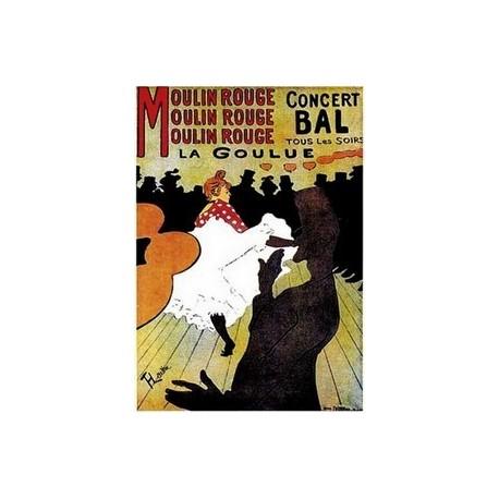 """Affiche """" Moulin rouge """" - 50 x 70 cm"""