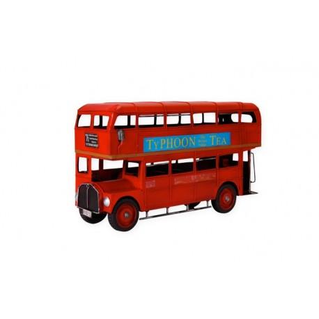 Bus Impérial - métal - 40 x 23 x 13 cm