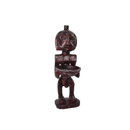 Statuette  Africaine - résine - H. 48,5 cm