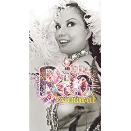 """Kakemono """"Carnaval de Rio"""" 100 x 55 cm"""
