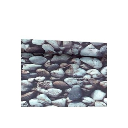 Tissu galets  - synthétique  ignifugé M1 - Larg. 150cm    (vendu au mètre)