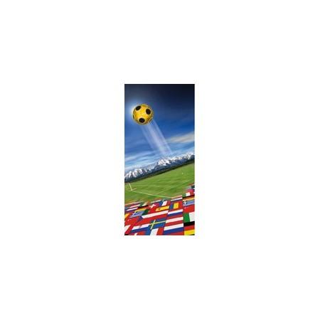 Kakemono Foot - tissu - 180 x 75 cm