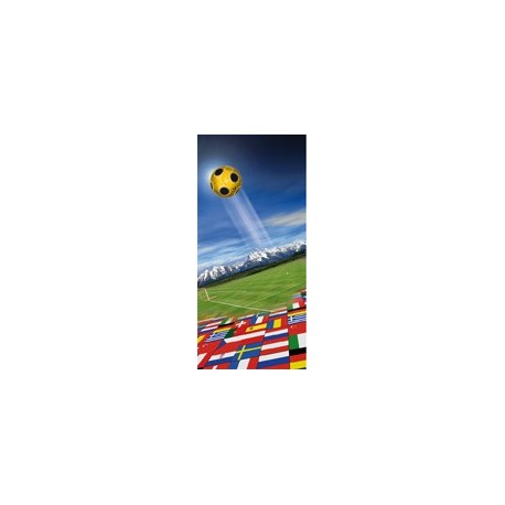 Kakemono Euro 2008 - tissu - 180 x 75 cm