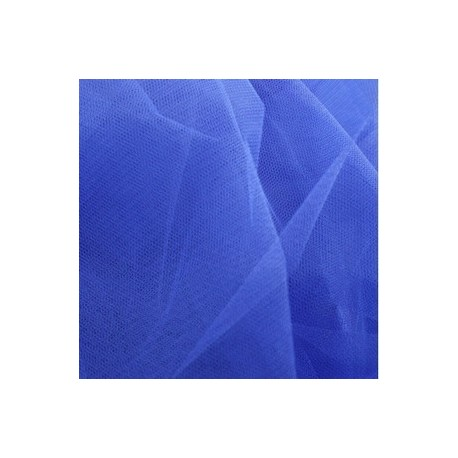 Tulle bleu - tulle - larg.140 cm (vendu au mètre)