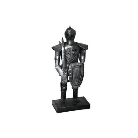 Armure métal - H. 36cm