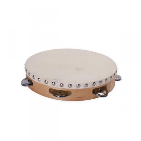 Tambourin - bois - Diam. 26 cm