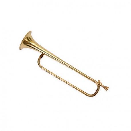 Trompette - cuivre- H. 50cm