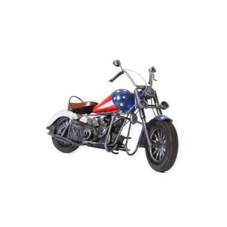 Harley easy raider - métal - 36 x 14 x 20cm