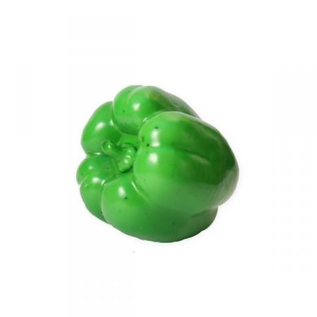 Poivron vert géant - polystyrène - H. 21cm