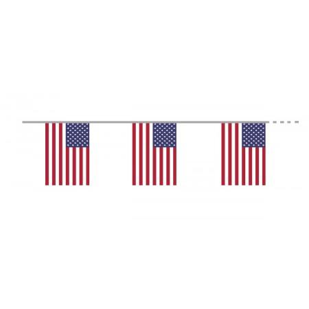 Guirlande  USA - tissu - Long. 400cm