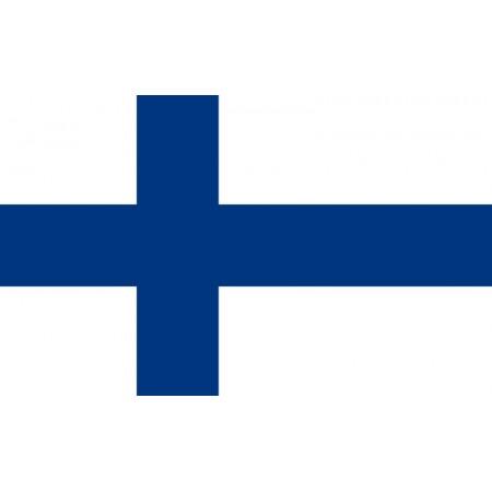 Drapeau Finlande - tissu - 90 x 150 cm