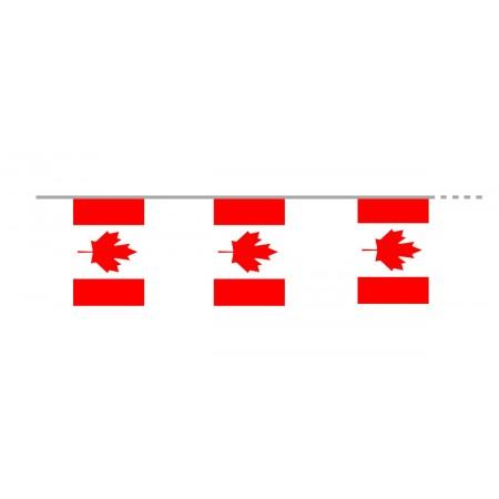 Guirlande  Canada  - tissu - Long 400cm