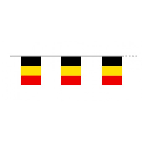 Guirlande Belgique - plastique - Long. 500cm