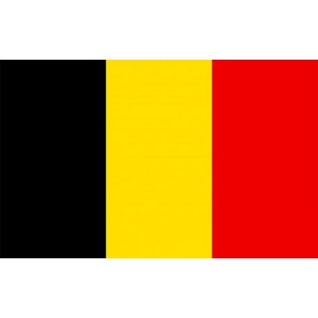 Drapeau Belgique - tissu - 90 x 150cm