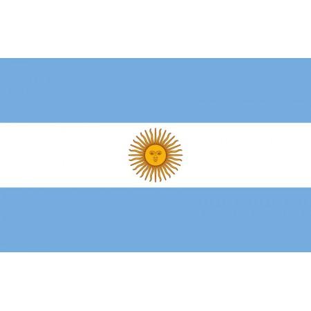 Drapeau Argentine - tissu - 90 x 150 cm