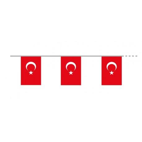 Guirlande  Turquie - tissu -  Long.4 m