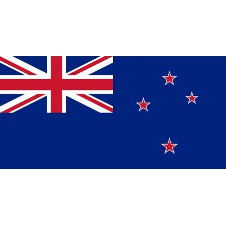 Drapeau Nouvelle Zelande - tissu - 90 x 150cm
