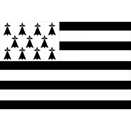 Drapeau Bretagne - tissu - 90 x 150cm