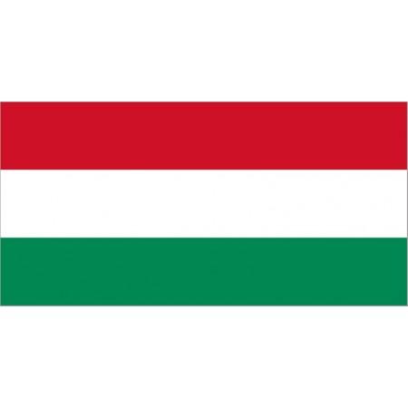 Drapeau Hongrie - tissu - 90 x 150 cm